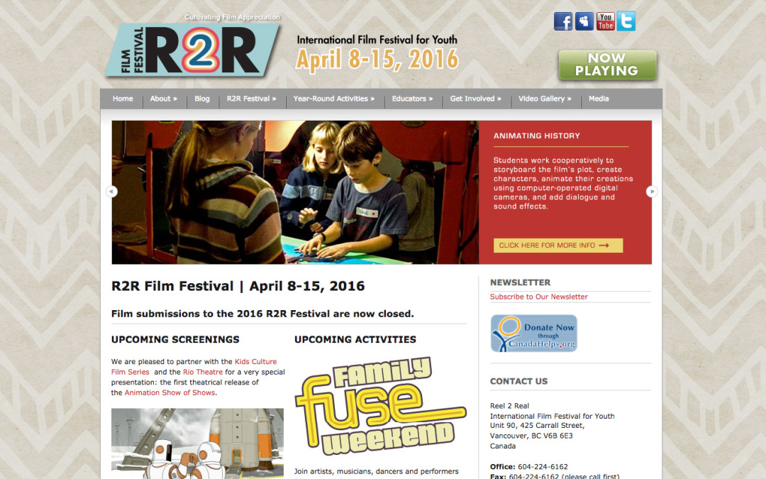 Reel 2 Real International Film Festival for Youth