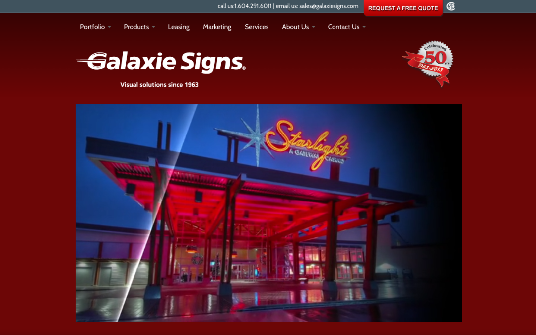 Galaxie Signs